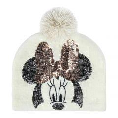 """Тепла шапочка для дівчинки  """"MINNIE"""" , 2200004316"""