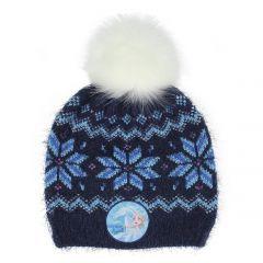 """Тепла шапочка для дівчинки """"Frozen"""", 2200005908"""