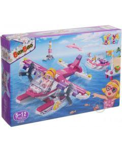"""Конструктор """"Модний пляж/літак та катер"""", Banbao 6132"""
