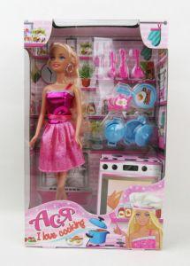 """Набір лялька Ася з серії """"Я люблю готувати"""", 35102"""