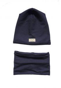 Дизайнерський набір для дитини (шапочка і хомут), Н-003