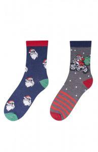 Набір святкових шкарпеток для дитини (2 пари), YOclub SK-38