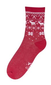 Шкарпетки для дитини (червоні), YOclub SK-39