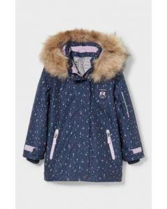 Тепла водонепроникна куртка для дівчинки