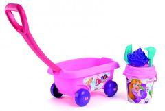 """Візок з набором для піску """"Princesses"""", 6 ел., Smoby 867008"""