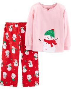 Різдвяна флісова піжама