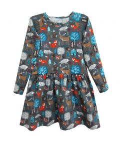 Трикотажне плаття для дівчинки, 7708