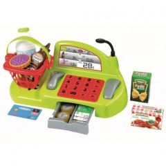"""Ігровий набір """"Chef-Cook"""" Каса з продуктами і аксесуарами, Ecoiffier 1230"""
