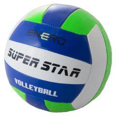 Волейбольний м'яч (синій з салатовим), L738
