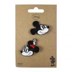 "Набір брошок для дитини 2шт. ""Mickey & Minnie"", 2600000549"
