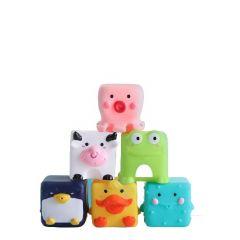 Іграшка для ванної Babyhood Веселий зоопарк 6 шт (BH-736)