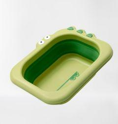 Універсальний складаний тазик Babyhood Крокодил зелений (BH-747BG)