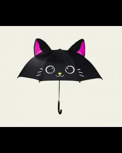 """Дитяча парасоля з 3D вушками """"Кішка"""""""