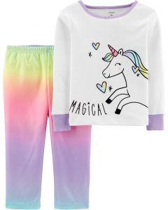 Піжама з флісовими штанами для дівчинки