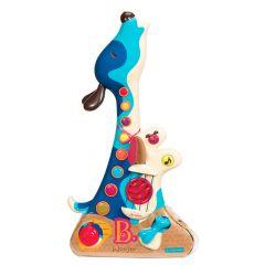 Музыкальная игрушка - ПЕС-ГИТАРИСТ (звук), Battat BX1206Z