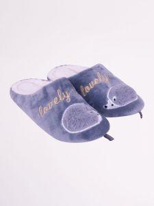 Домашні тапочки для дівчинки, сірі OK-015