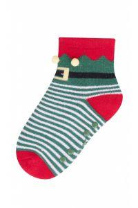 Теплі махрові шкарпетки для дитини (зелені), YOclub SKF-ABS