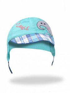 Літня кепка для хлопчика (бірюзова), YoClub CLU-083