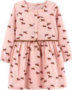 Легке бавовняне плаття для дівчинки від Carter's