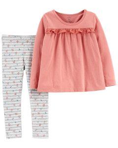 Трикотажний комплект-двійка для дівчинки