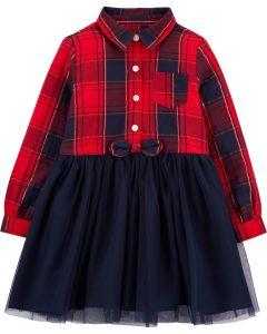 Плаття з фатином для дівчинки
