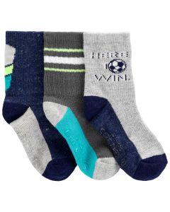 Набір трикотажних шкарпеток (3 пари) для дитини