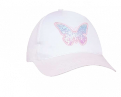 Кепка для девочки (белая) , Yoclub CZD-487