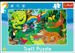 """Пазли рамкові """"Тропічний ліс"""", Trefl 31219"""