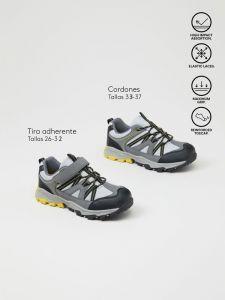 Трекінгові кросівки (шнурівка або липучка) для хлопчика