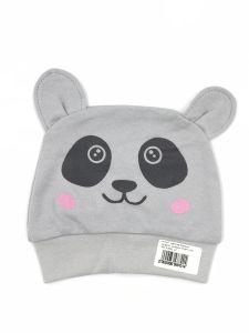 Трикотажна шапочка для дитини (сіра), Lotex 411-01
