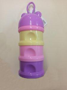 Контейнер для дитячих сумішей (бузковий з жовтим), Lindo LI 839