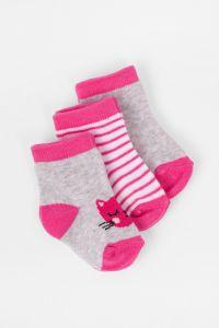 Набір шкарпеток для дівчинки (3 шт.), 5V3615