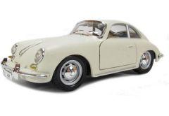 Автомодель - PORSCHE 356B(слонова кисть) (1961) (1:24), BBURAGO 18-22079