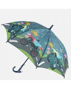 "Дитяча парасоля ""Hot Wheels Big Cars"" (сіра)"