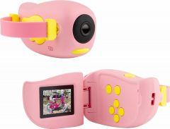 Дитяча цифрова фотоапарат - камера KIDS CAMERA, рожева