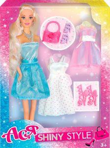 Набір лялька Ася з серії Блискучий стиль, 35065