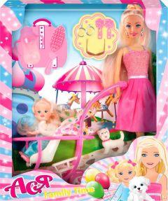Набір лялька Ася з серії Сімейна прогулянка, 35087
