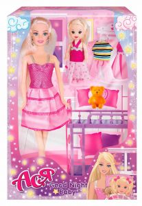 Набір лялька Ася з серії Сімейна прогулянка, 35095