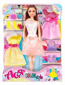 """Набір лялька Ася з серії """"Яскравий в моді"""", 35138"""