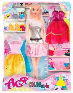 """Набір лялька Ася з серії """"Яскравий в моді"""", 35139"""