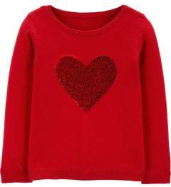Пуловер з паєтками для дівчинки