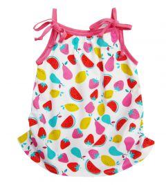 Літній трикотажний сарафан для дівчинки, 0876