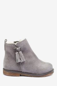 Замшеві черевики для дівчинки від Next