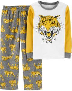 Пижама для мальчика с флисовыми штанами