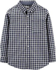 Рубашка с длинным рукавом для мальчика