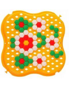 """Розвиваюча іграшка """"Мозаїка"""" міні, 39112 (жовта)"""