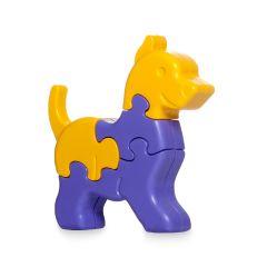 """Розвиваюча іграшка 3D пазли """"Собачка"""", Tigres 39385"""