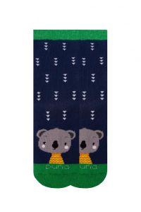 Шкарпетки з махровою ниткою (сині), Duna, 4038