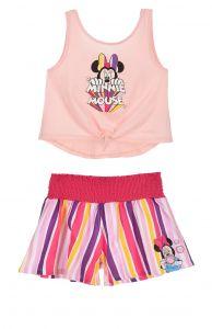 Комплект-двійка з шортами для дівчинки (рожевий), Sun City ET1141
