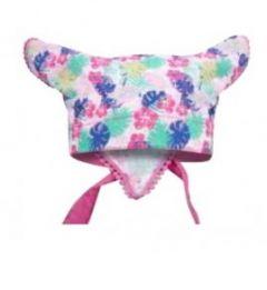 Косынка для девочки (розовая с фиолетовым), YoClub CHL-076